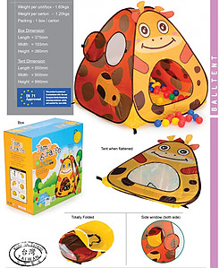 My Dear Tame Giraffe Play Tent - 33090