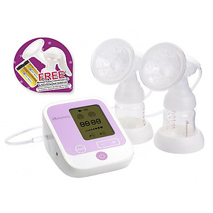 Autumnz PASSION II (With Rechargeable Batteries) Convertible Double Electric/Manual Breastpump