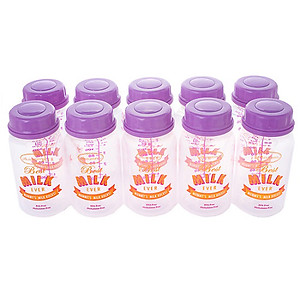 Autumnz Coloured Breastmilk Storage Bottles  (10pcs)