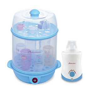 Autumnz 2 In 1 Electric Steriliser & Food Steamer + Home & Car Warmer Combo With Free Gift