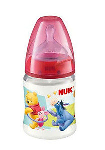 Nuk Premium Choice Disney Bottle Silicone Teat 150ml/5oz (BPA Free)-1pc