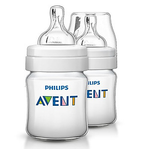 Philips Avent Classic Plus Bottle 125ml/4oz - 2pcs