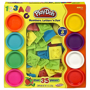 Play-Doh Numbers, Letters 'N Fun