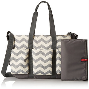 Skip Hop Duo Double Diaper Bag - Chevron