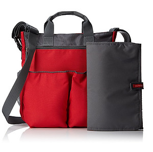 Skip Hop Duo Signature Diaper Bag - Red