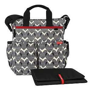 Skip Hop Duo Signature Diaper Bag - Heart