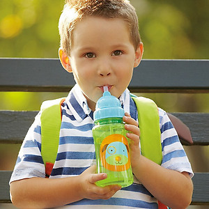 Skip Hop Zoo Straw Bottle (1pc)