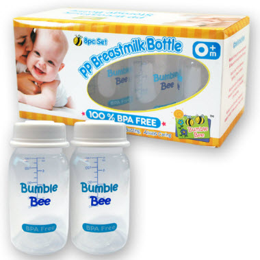 Bumble Bee Breastmilk Storage Bottles (10pcs)