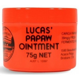 Lucas Papaw Remedies Papaw Ointment 75g
