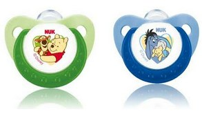 Nuk Disney Sleep-time Silicone Pacifiers ( Soothers ) - (2pcs)