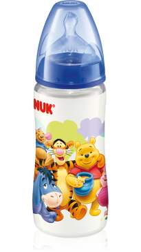 Nuk Premium Choice Disney Bottle Silicone Teat 300ml/10oz (BPA Free)-1pc