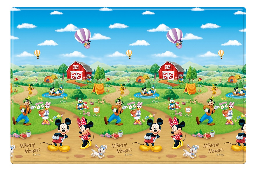 Parklon Playmat Pe Roll Mat Mickey Mouse Abc