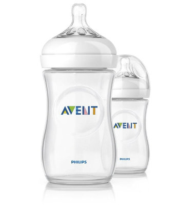 Philips Avent Natural Bottle 260ml/9oz (2pcs)