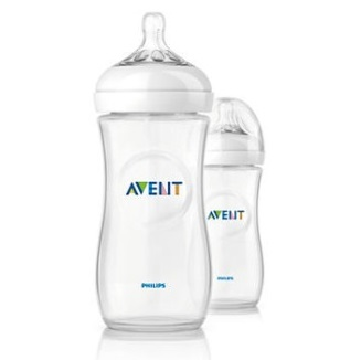 Philips Avent Natural Bottle 330ml/11oz (2pcs)
