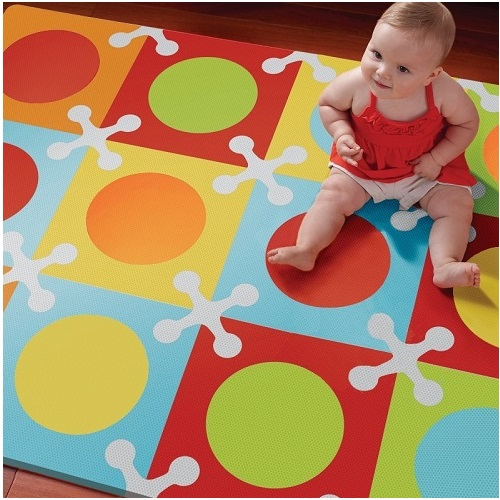 Skip Hop Playspot Foam Floor Tiles Playmat - Bold Brights