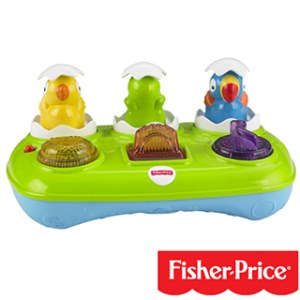 Fisher-Price Musical Pop-Up Eggs