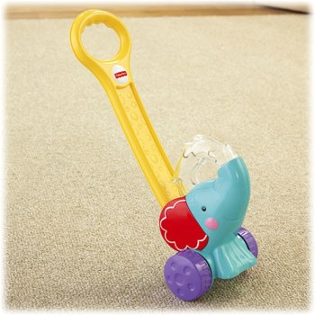 Fisher-Price Pop N Push Elephant