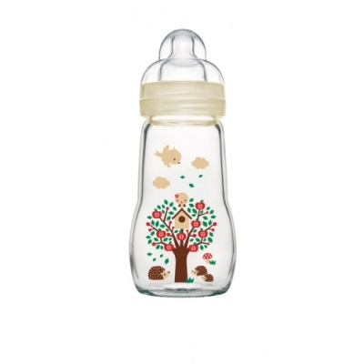 MAM Feel Good Glass Bottle 260ml