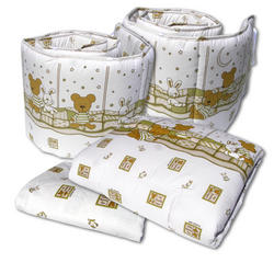 Bumble Bee 4pcs Crib Set
