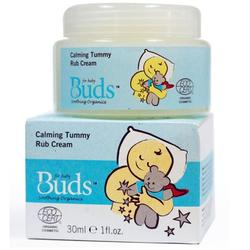 Buds Soothing Organics Calming Tummy Rub Cream 30ml
