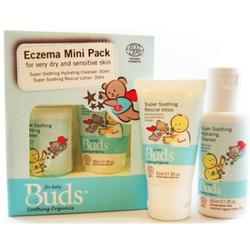 Buds Soothing Organics Eczema Rescue Kit Mini Pack