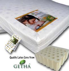 Bumble Bee Latex Baby Mattress - 28 x 52 x 3