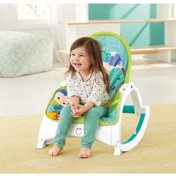 Fisher-Price Rainforest Friends - Newborn-to-Toddler Portable Rocker
