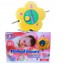 I-Baby Flower Electronic Baby Cradle With Spring