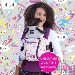 Lillebaby Complete All Seasons Baby Carrier - Tokidoki Unicorn Over The Rainbow - Limited Edition