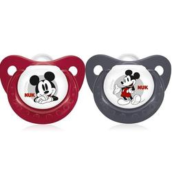 Nuk Disney Mickey Sleeptime Silicone Pacifiers ( Soothers ) - (2pcs)