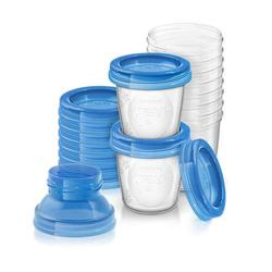 Philips Avent Reusable Breastmilk Storage Cups 180ml x 10PCS