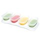 Autumnz Easy Baby Food Storage Cups 4oz (4 Cups & 1 Tray)
