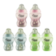 Tommee Tippee Closer To Nature  Decorated Bottle 260ml / 9oz ( BPA Free ) - 2pcs