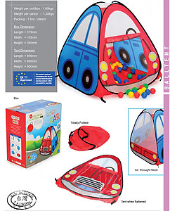 My Dear Go Go Car Play Tent - 33097