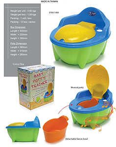 My Dear Musical Baby Potty - 37007