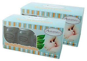 Autumnz Breastmilk Storage Bottles - BPA Free (10 pcs) - 2 Boxes
