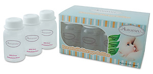 Autumnz Breastmilk Storage Bottles - BPA Free (10 pcs)