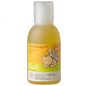 Buds Organic Everyday Infant Massage Oil 100ml