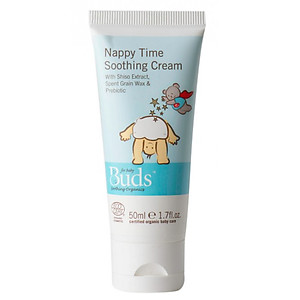 Buds Organics Nappy Rash Rescue Cream 50ml (Nappy Time Soothing Cream)