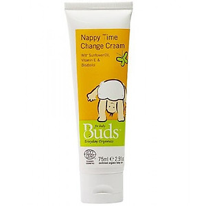 Buds Organics Nappy Time Change Cream 75ml