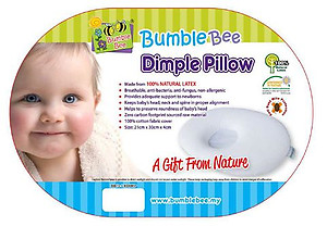 Bumble Bee Latex Dimple Pillow