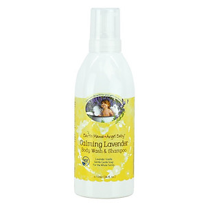 Earth Mama Angel Baby Baby Shampoo & Body Wash 1000ml