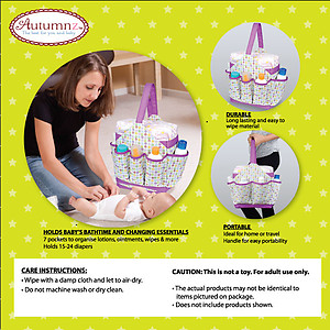 Autumnz Portable Diaper Caddy