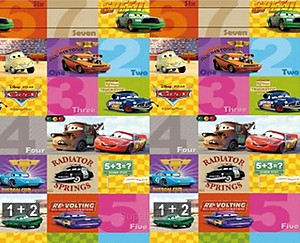Parklon Playmat PE Roll Mat - Cars