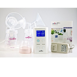 Spectra 9 Plus Double Rechargeable Portable Breast Pump