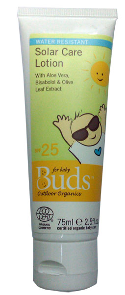 Buds Organics Solar Care Lotion SPF25 75ml