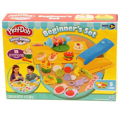 Play-Doh Beginner's Set Food Theme