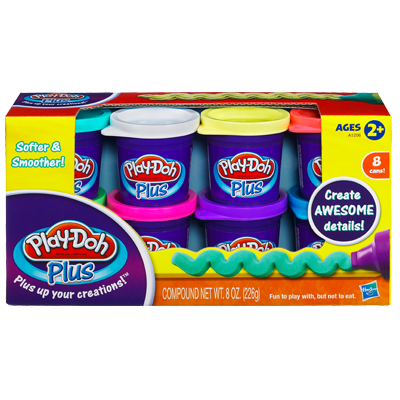 Play-Doh Plus 8-Pack Variety