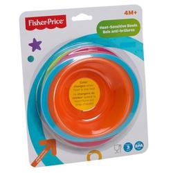 Fisher-Price Heat Sensitive Bowl (3pcs)