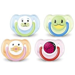 Philips Avent Classic Orthodontic Pacifier Animal Design 6-18 Months - 2pcs (Soother)